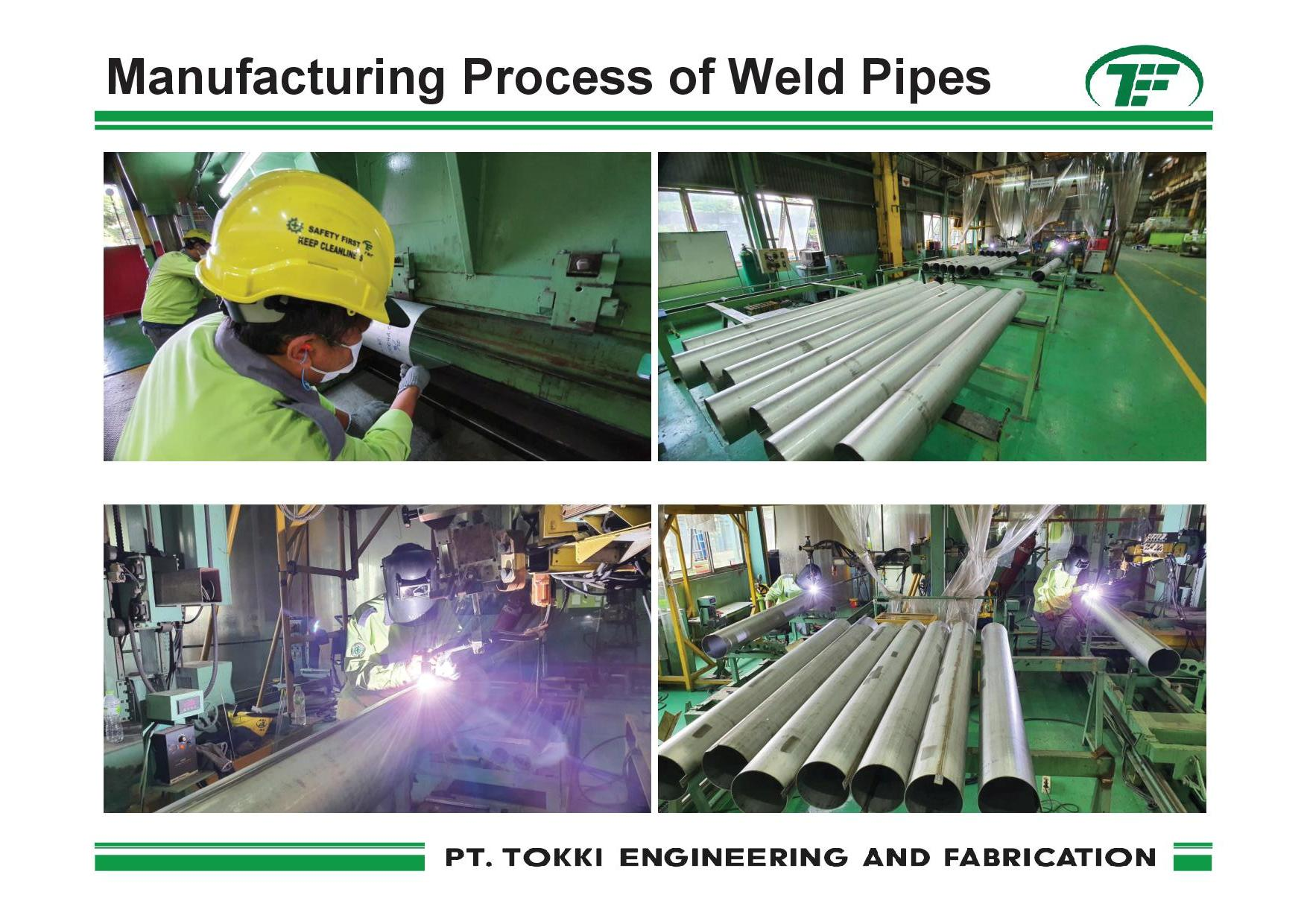 weld pipes