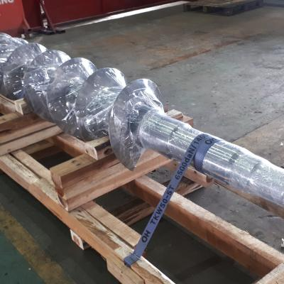 SS304 Screw Conveyor
